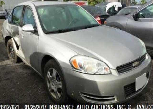 Inventory #206068181 2008 Chevrolet IMPALA