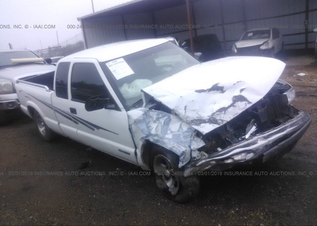 1GCCS19W5Y8253767, Salvage white Chevrolet S Truck at