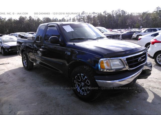 1ftrx17223nb83988 Clear Black Ford F150 At Jacksonville Fl On