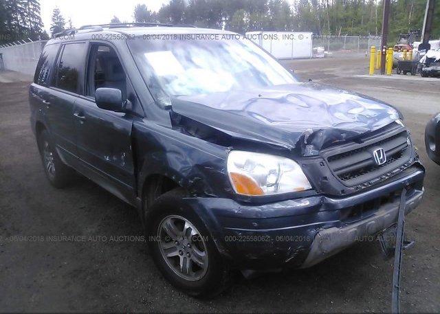 Inventory #353560123 2003 Honda PILOT