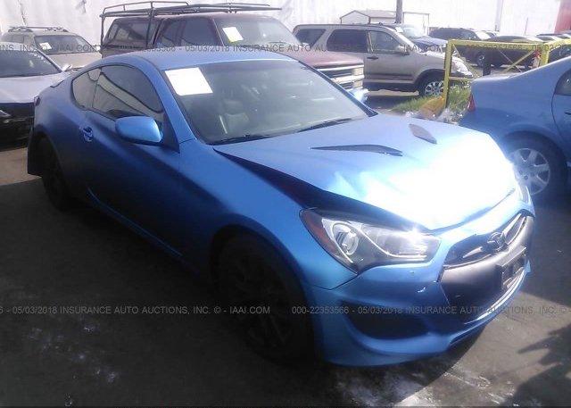 Inventory #755131647 2013 Hyundai GENESIS COUPE
