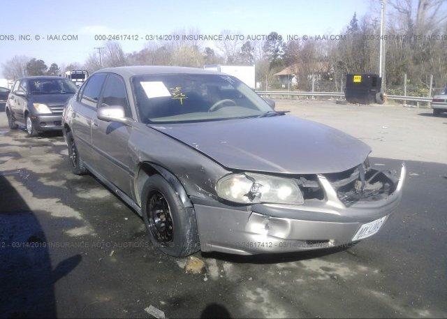 Inventory #876273245 2003 Chevrolet IMPALA