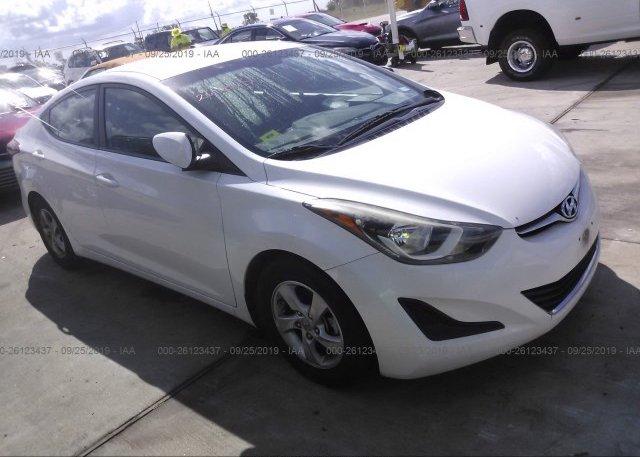 Inventory #956693440 2014 Hyundai ELANTRA