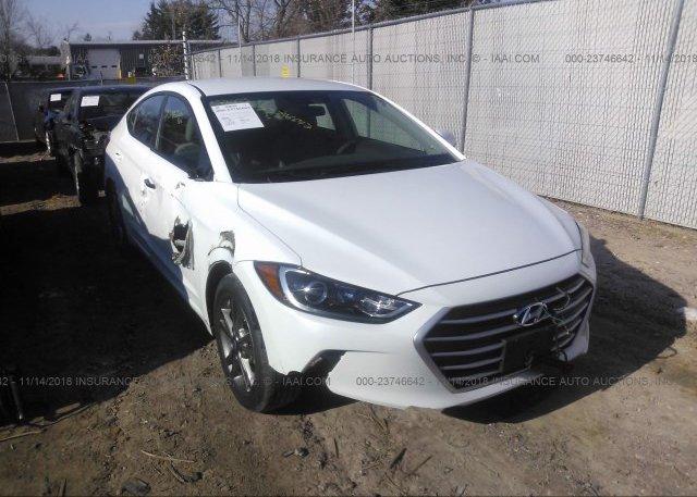 Inventory #938153327 2017 Hyundai ELANTRA