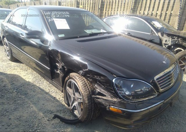 Inventory #945920270 2001 Mercedes-benz S