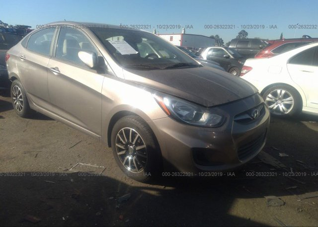 Inventory #819063580 2013 Hyundai ACCENT