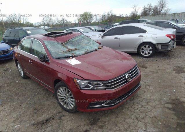 Inventory #825199564 2016 Volkswagen PASSAT