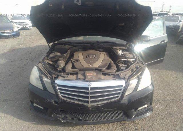 WDDHF8HB2BA377163 2011 Mercedes-benz E-CLASS