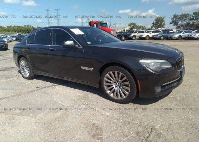 Inventory #938702511 2012 BMW 750