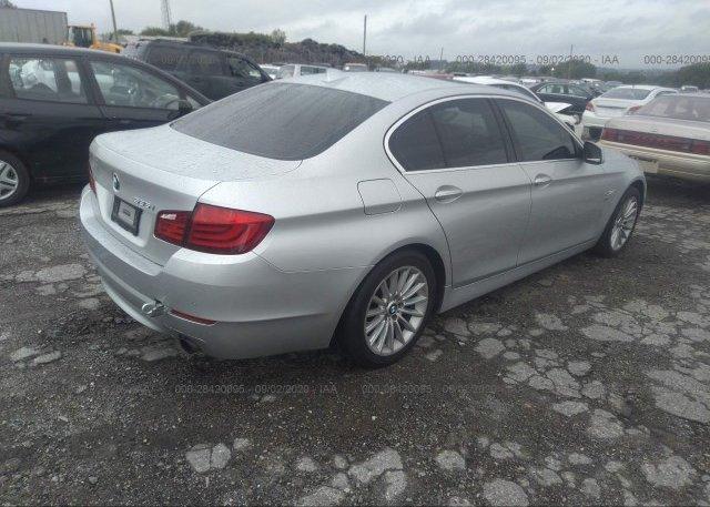 цена в сша 2011 BMW 5 SERIES WBAFU7C52BC778703