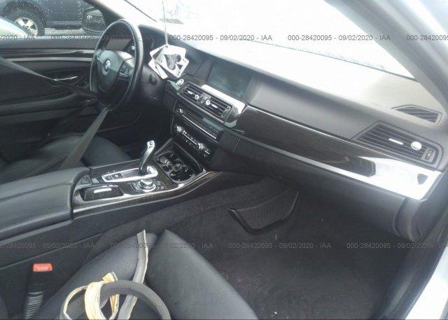 пригнать из сша 2011 BMW 5 SERIES WBAFU7C52BC778703