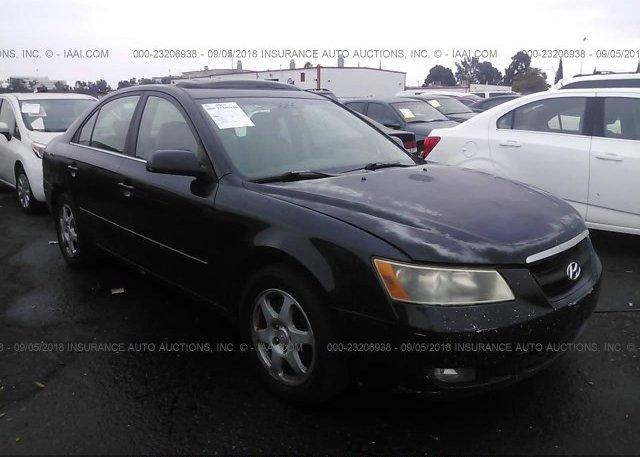 Inventory #265464240 2006 Hyundai SONATA