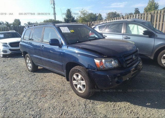 Inventory #846304758 2007 Toyota HIGHLANDER