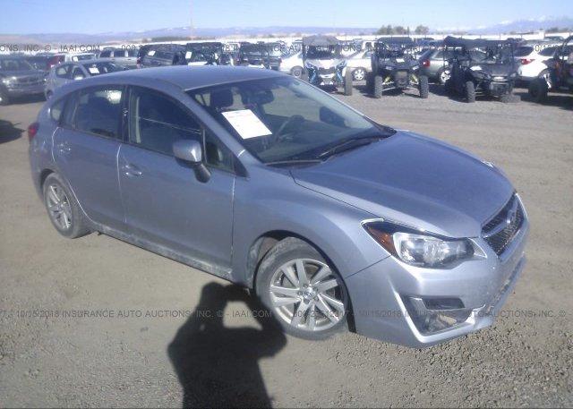 Inventory #600767382 2016 Subaru IMPREZA