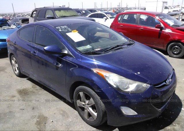 Inventory #451807547 2012 Hyundai ELANTRA