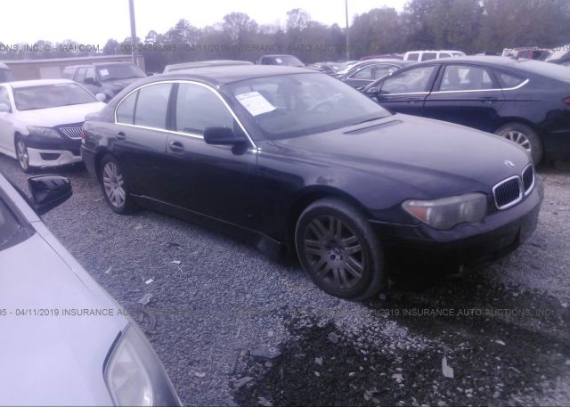 Inventory #656907426 2003 BMW 745