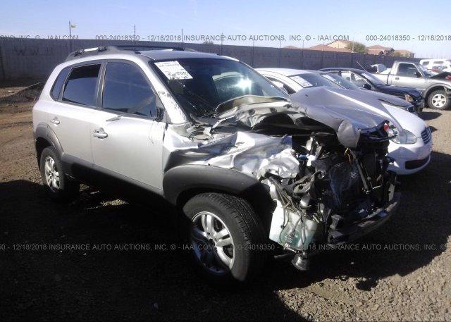 Km8jn12d76u391348 Salvage Silver Hyundai Tucson At Phoenix Az On