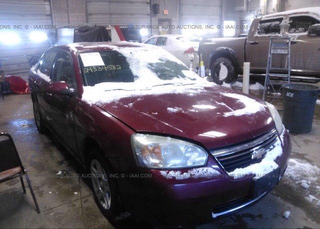 Inventory #896672323 2007 Chevrolet MALIBU