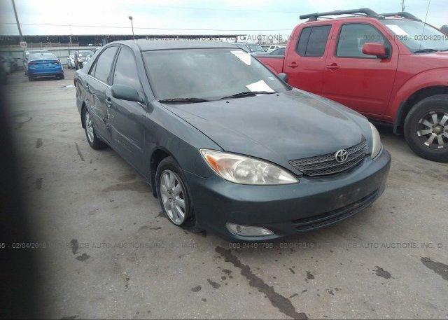 Inventory #296258727 2003 Toyota CAMRY