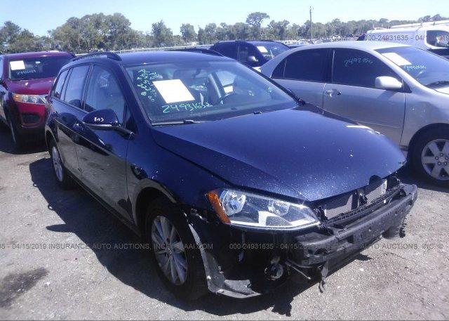 Inventory #236281002 2017 Volkswagen GOLF SPORTWAGEN