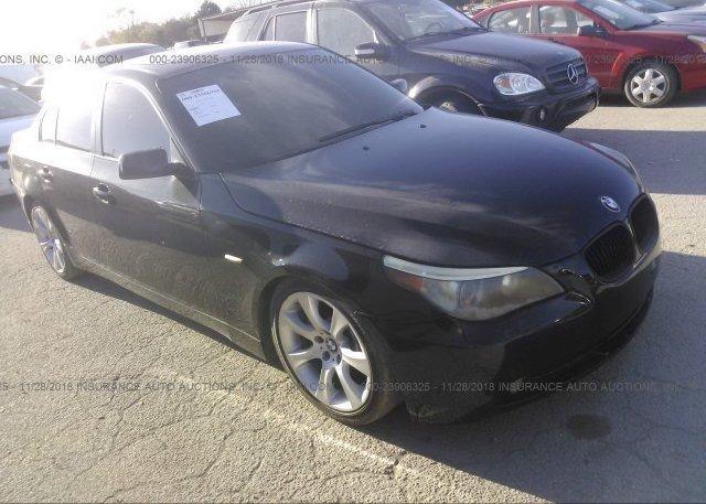Inventory #783614537 2004 BMW 545