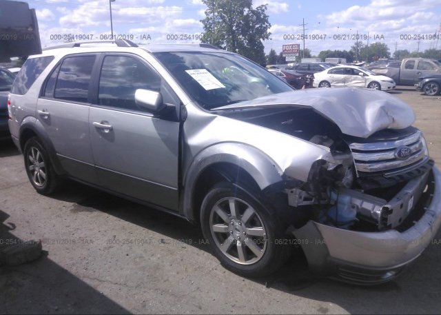 Inventory #758188636 2008 FORD TAURUS X
