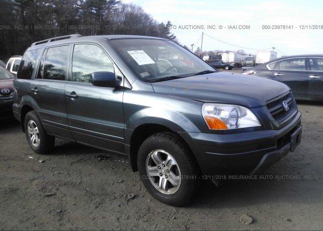 Inventory #133729220 2005 Honda PILOT
