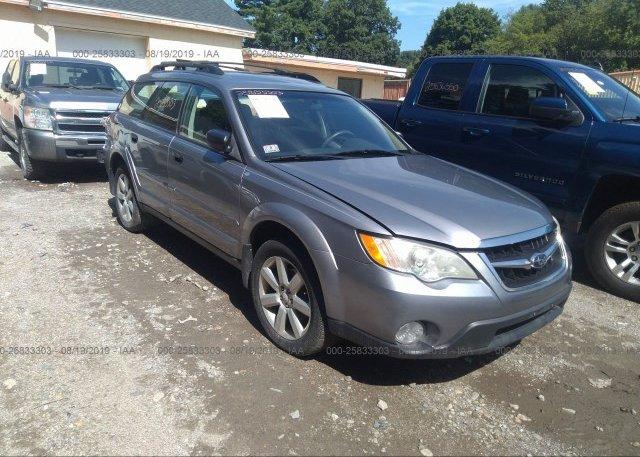 Inventory #222358650 2008 Subaru OUTBACK