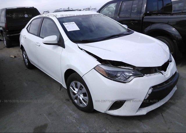 Inventory #167405071 2014 Toyota COROLLA