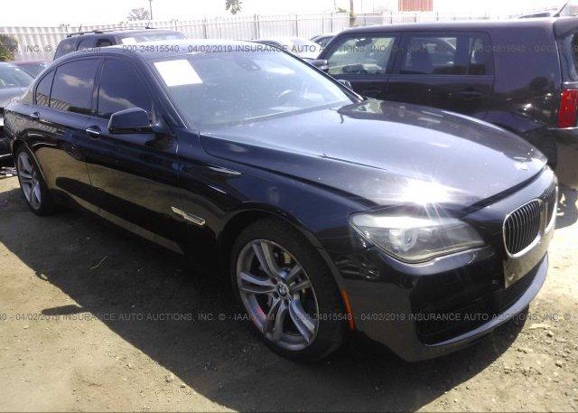 Inventory #512787819 2011 BMW 750