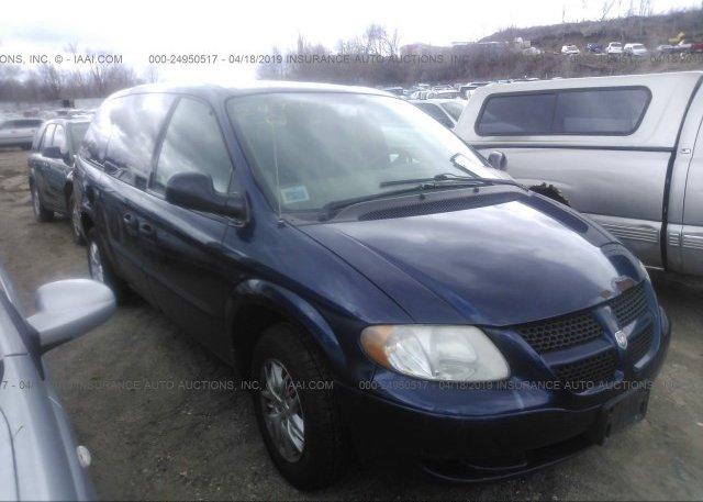 Inventory #181059194 2004 Dodge GRAND CARAVAN