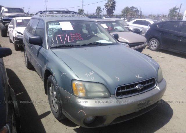 Inventory #340535501 2004 Subaru LEGACY