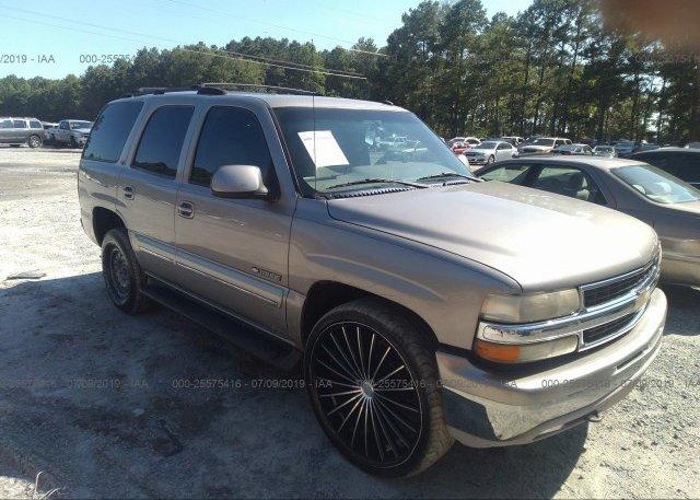 Inventory #236388489 2002 Chevrolet TAHOE
