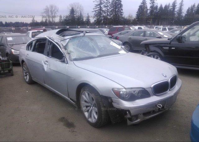 Inventory #278160334 2007 BMW 750