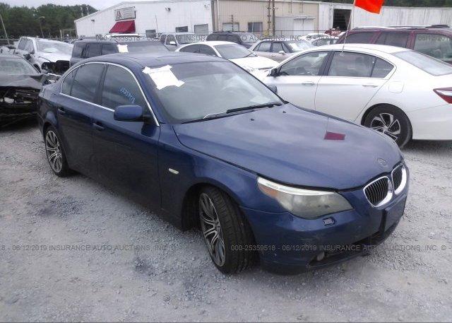 Inventory #886700266 2007 BMW 525