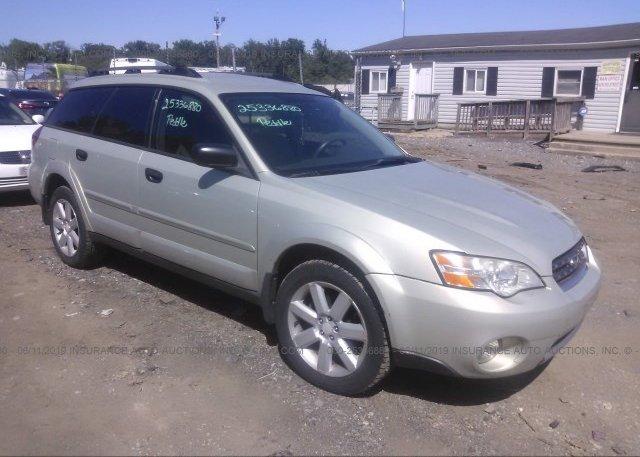 Inventory #484166974 2006 Subaru LEGACY