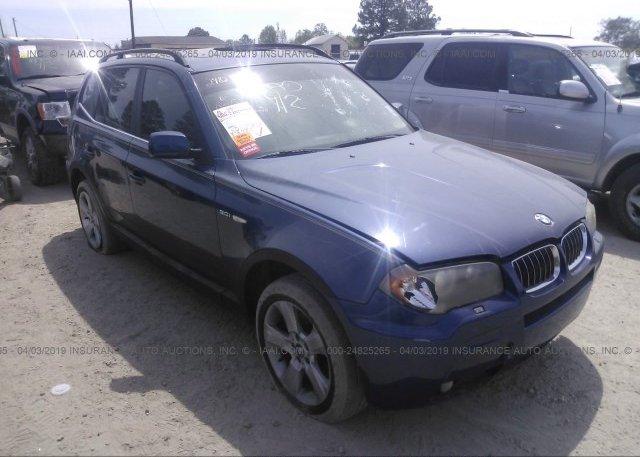 Inventory #199872443 2006 BMW X3