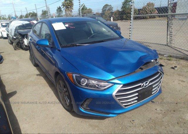 Inventory #214637494 2017 Hyundai ELANTRA