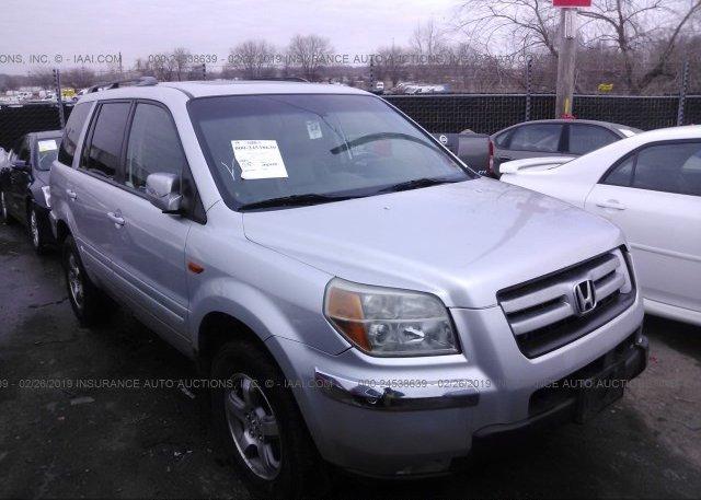 Inventory #740987968 2006 Honda PILOT