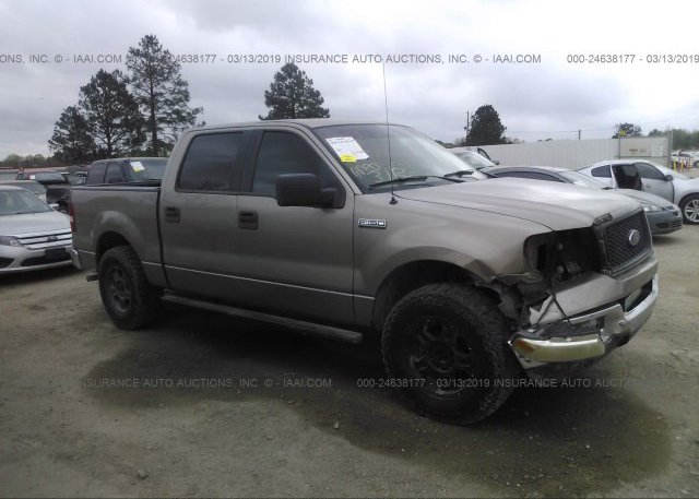 Inventory #992820331 2005 FORD F150