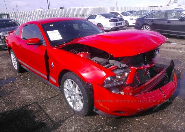 Inventory #526958444 2012 FORD MUSTANG