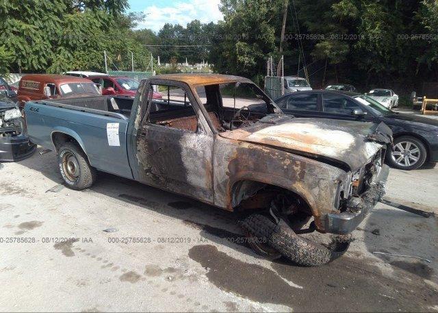 Inventory #259249415 1989 Dodge DAKOTA