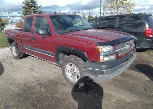 Inventory #647827760 2004 Chevrolet SILVERADO