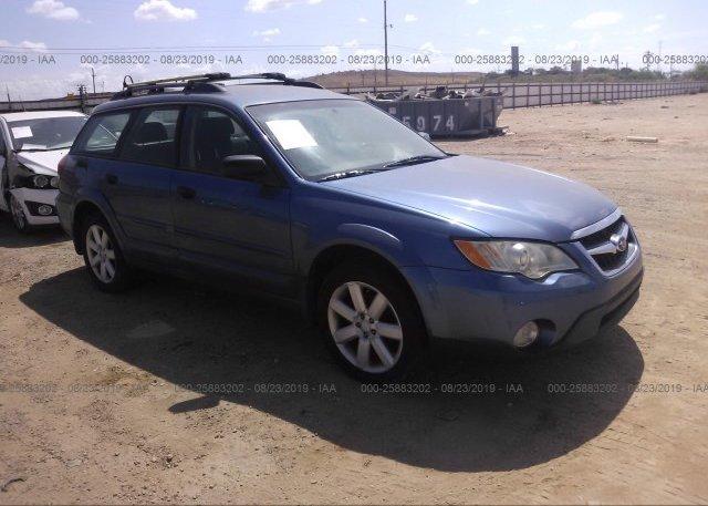 Inventory #629037822 2008 Subaru Outback