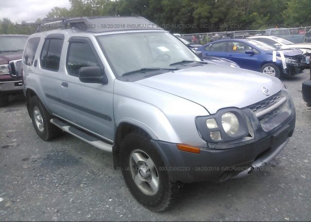 5n1an08w06c506705 Clear Silver Nissan Xterra At Pittston Pa On