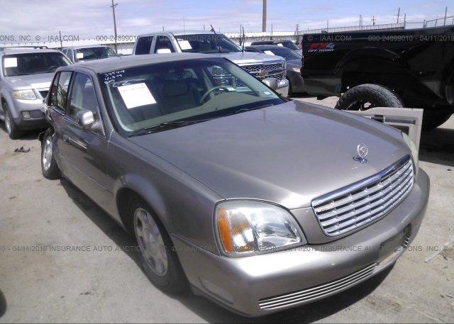 Inventory #872997446 2001 Cadillac DEVILLE