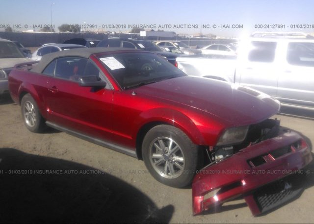 1zvft84n655204167 Salvage Red Ford Mustang At Phoenix Az On Online