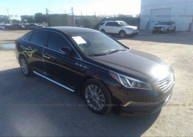 Inventory #101323037 2015 Hyundai SONATA