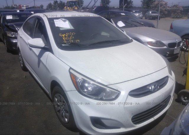 Inventory #657509070 2017 Hyundai ACCENT