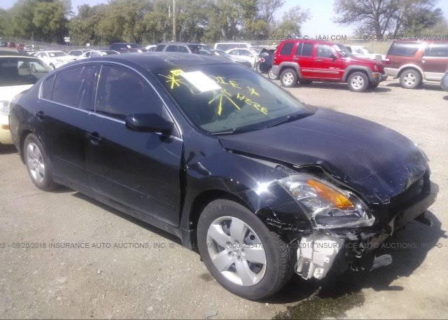 1n4al21e87c223600 Salvage Black Nissan Altima At Springfield Ne On